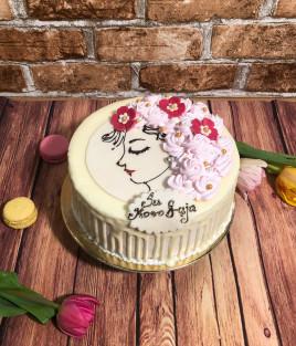 Moters dienos tortas