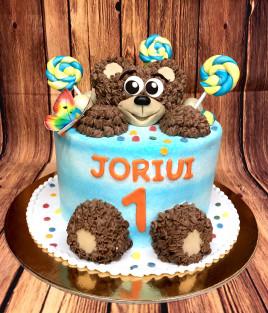 Tortas meškiukas su saldainiais