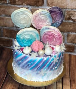 Gimtadienio tortas su saldainiais