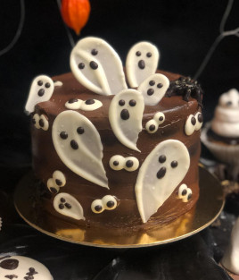 Helovino (Halloween) tortas Vaiduoklis