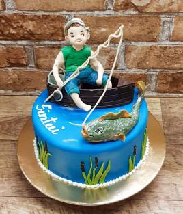 Tortas žvejys ir žuvis