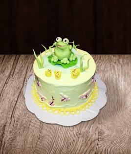 Vaikiškas tortas varlė