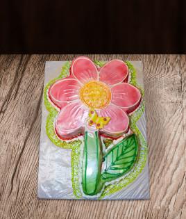 Vaikiškas tortas gėlytė