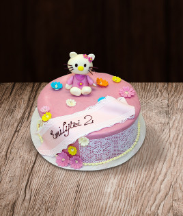Tortas Hello Kitty