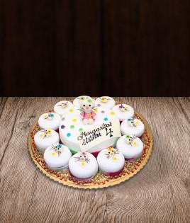 Tortas ir pyragaičiai Hello Kitty