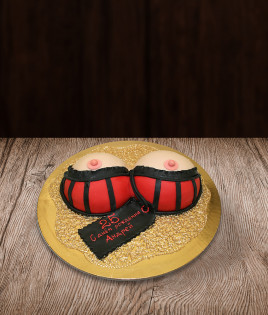 Bernvakario tortas krūtinė