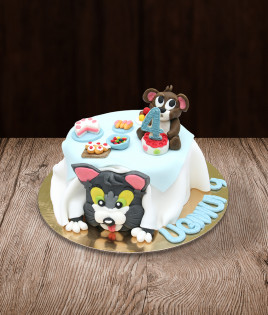 Tortas Tom and Jerry