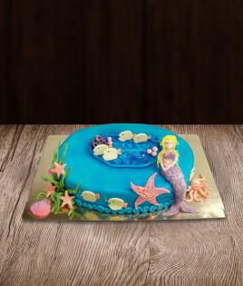 Tortas undinėlė