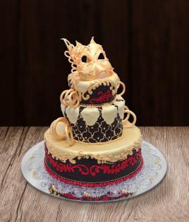 Tortas karnavalinė kaukė