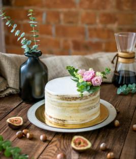 Nuogas (nude, naked) tortas