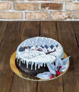 Kalėdinis Naujametinis tortas