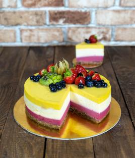 Tortas EGZOTIŠKA PANAKOTA be grūdinių kultūrų ir pieno produktų