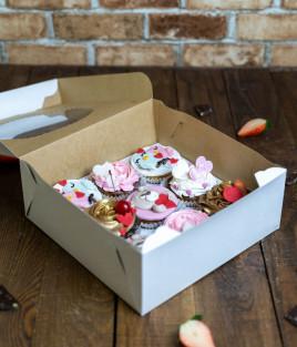 VALENTINO DIENOS keksiukai dėžutėje (9 vnt)