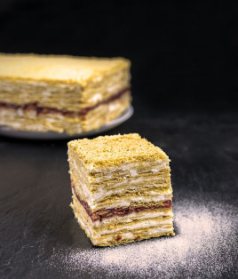 Pyragas SEKLYČIA (su uogiene)