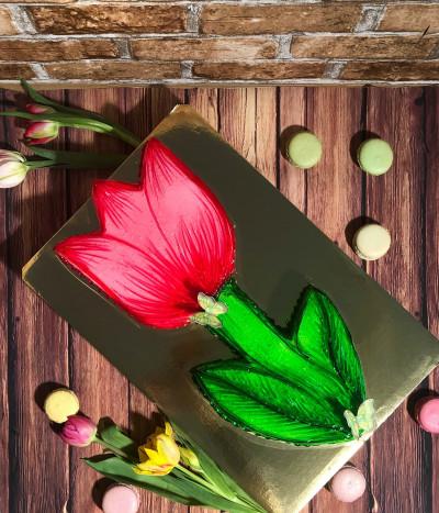 Tortas tulpė
