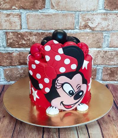 Tortas Pelytė Minė (Minnie Mouse)