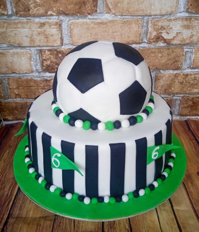 Tortas futbolo kamuolys