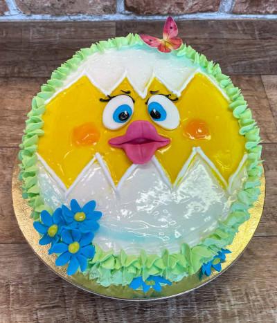Velykinis tortas kiaušinis