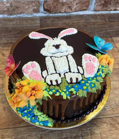 Velykinis tortas zuikis
