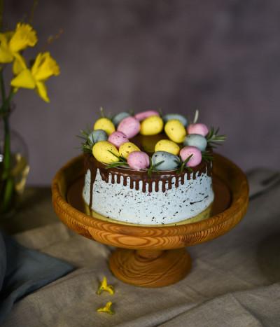 Velykinis tortas kiaušinukai
