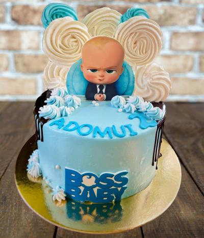 Tortas Boss Baby (Ponas Kūdikis)