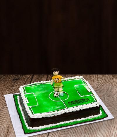 Vaikiškas tortas futbolininkas