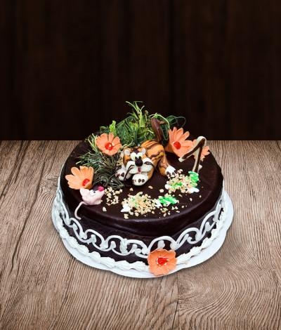 Vaikiškas tortas kačiukas