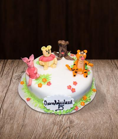 Tortas Winnie Pooh ir draugai