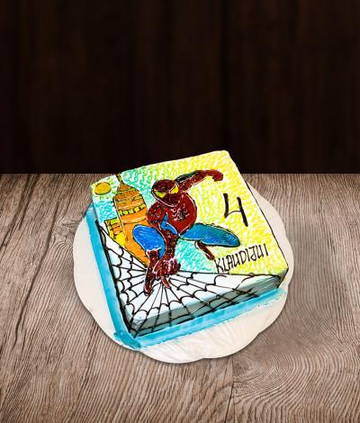 Tortas žmogus voras (Spiderman)