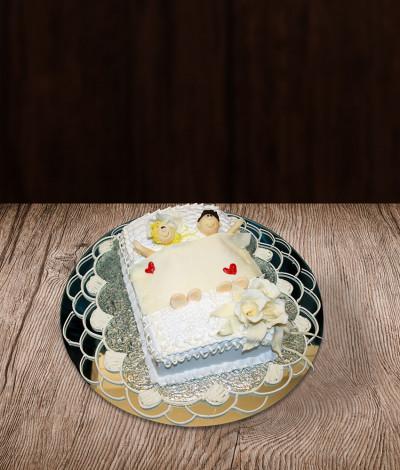 Mergvakario tortas