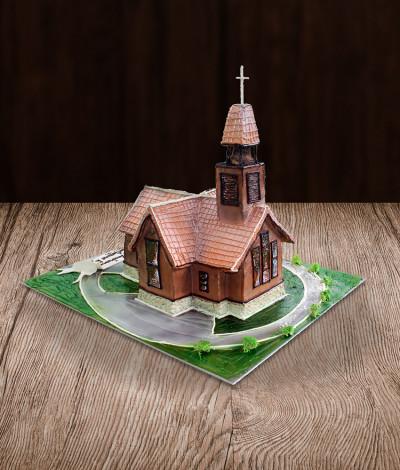 Tortas bažnyčia