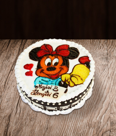 Tortas Minnie mouse