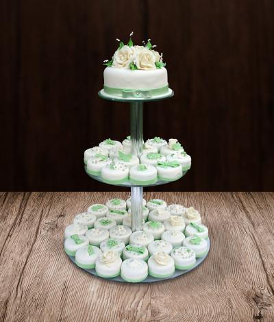 Vestuviniai pyragaičiai apvalūs
