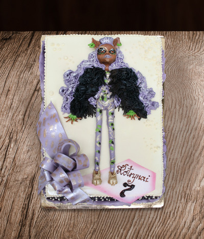 Tortas lėlės Monstrės (Monster High)