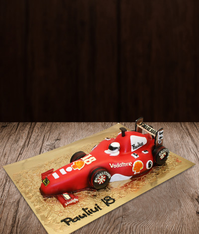 Tortas formulė Ferrari