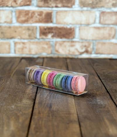 Sausainiai MAKARŪNAI (macarons) dėžutėje S