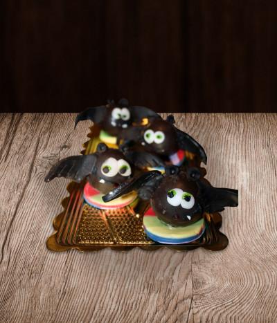 Helovino papuošimas šikšnosparniai