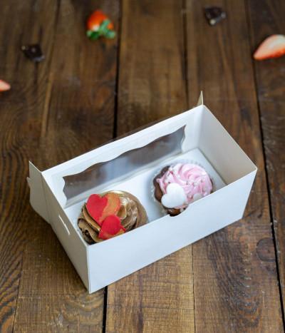 Valentino keksiukai dėžutėje (2 vnt)