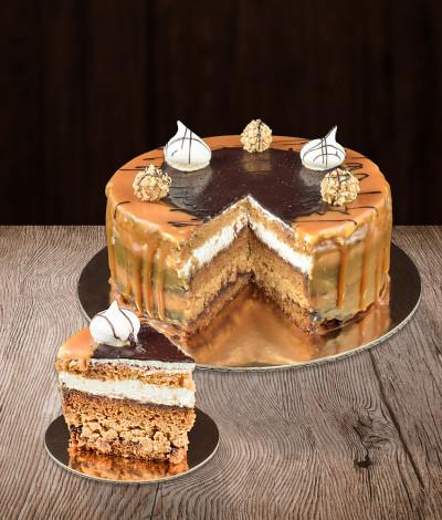 SNIKERINIS tortas