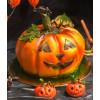 Helovino (Halloween) tortas Moliūgas