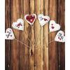 Meduolinės širdelės ant pagaliuko