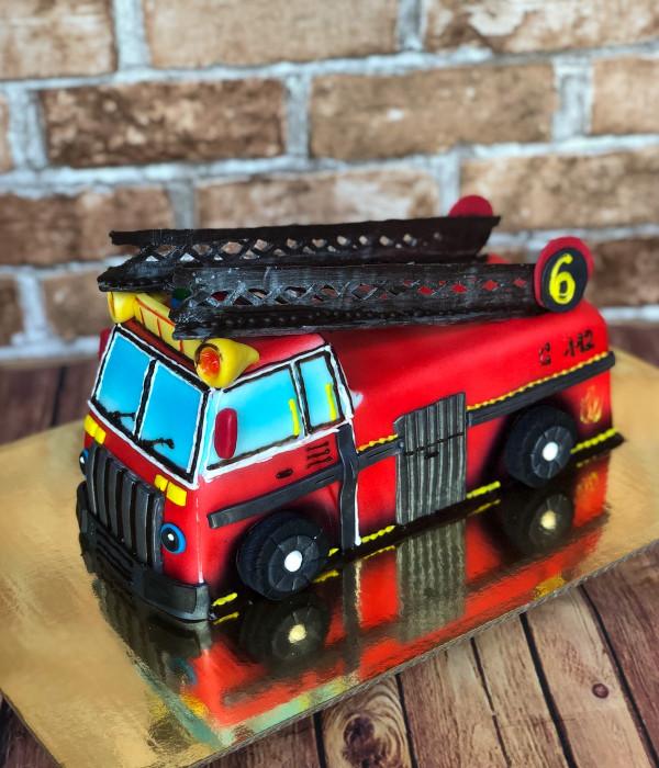 Tortas gaisrinės mašina