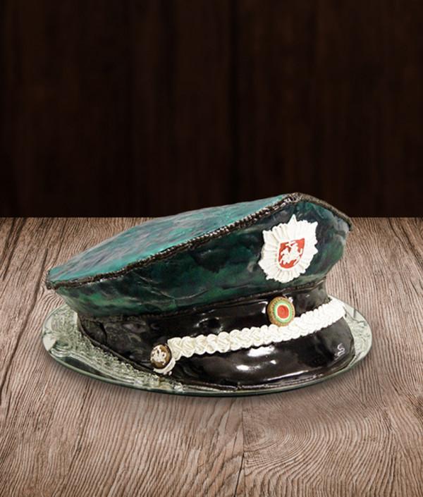Tortas policininko kepurė