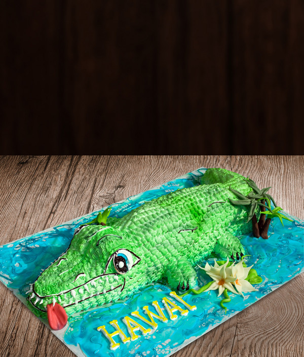 Tortas krokodilas