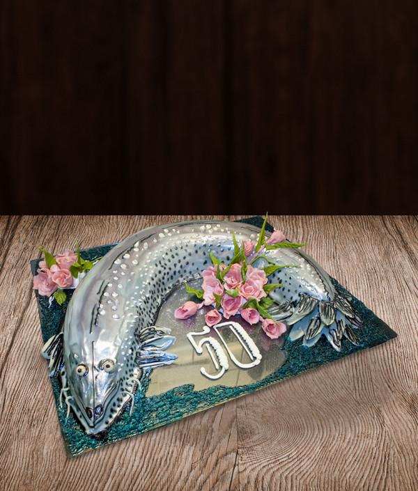 Tortas žuvis lydeka