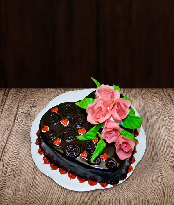 Tortas širdelė