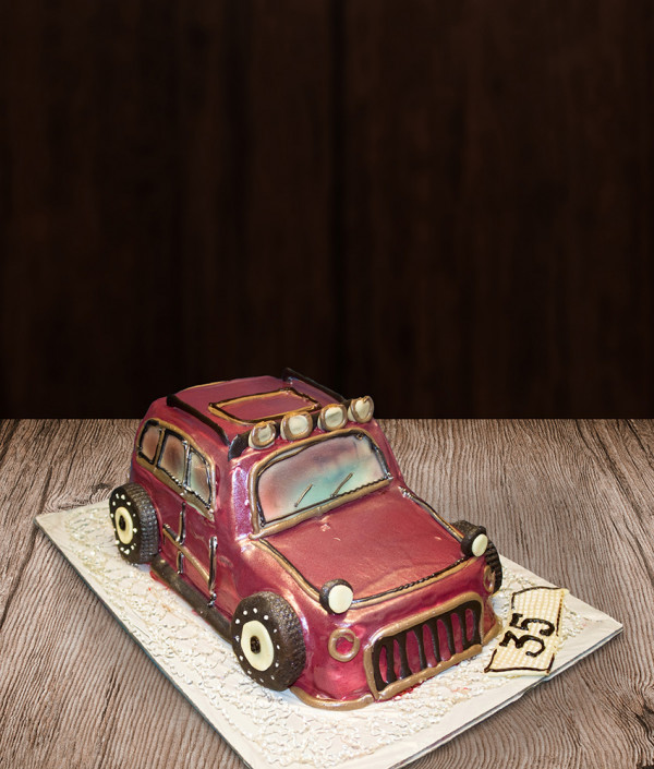 Tortas džipas