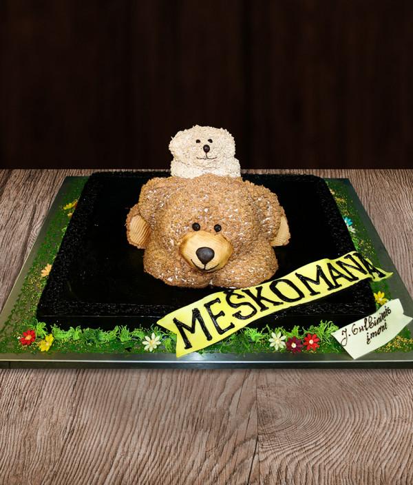 Tortas meškiukai