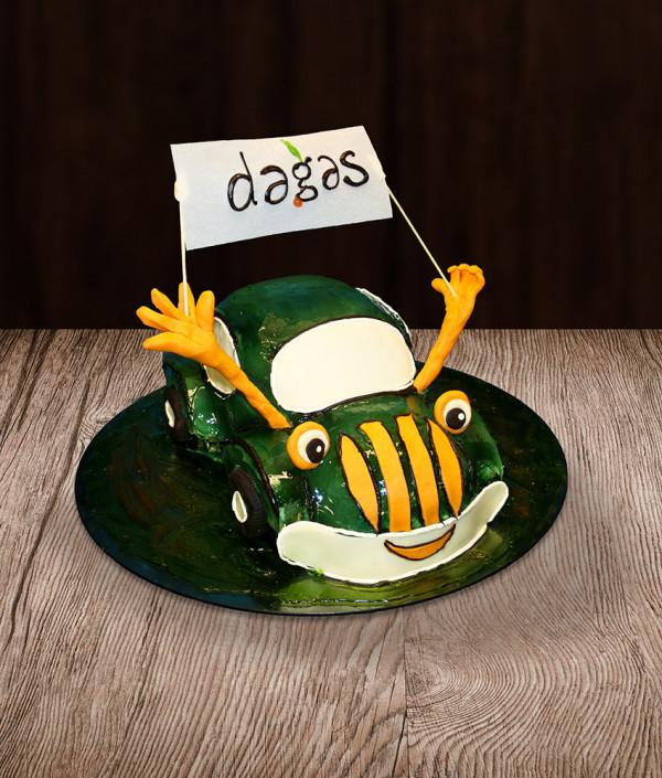 Tortas automobilis vabalas (VW Beetle)