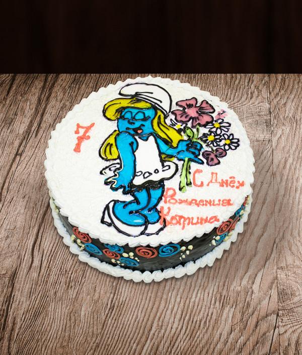 Tortas Smurfai